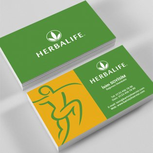 Herbalife Kartvizit